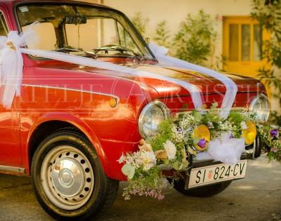 Vjenčanje oldtimer Fiat 850