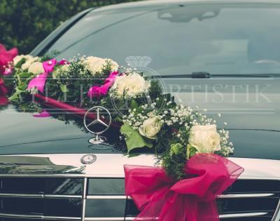Mercedes dekoracija vjenčanje