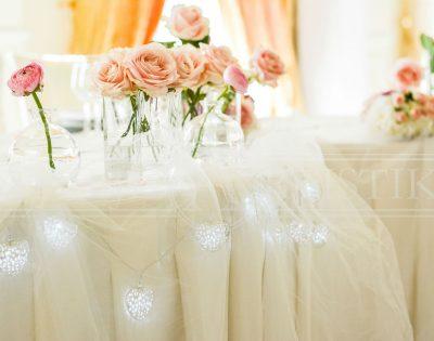 vjenčanje svjetleća srca